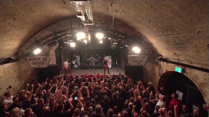 Metallica no House of Vans