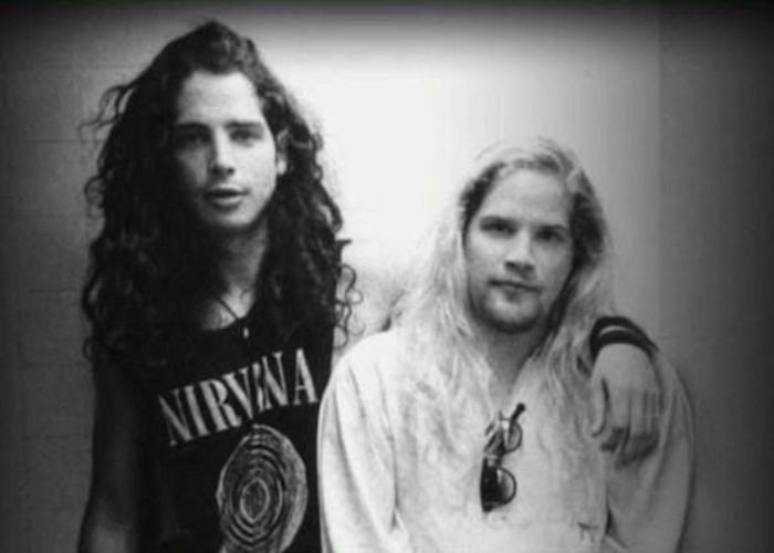 Chris Cornell e Andrew Wood