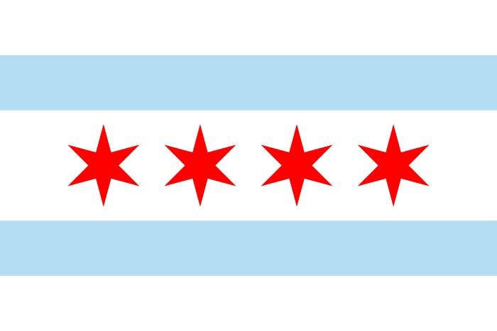 Bandeira de Chicago