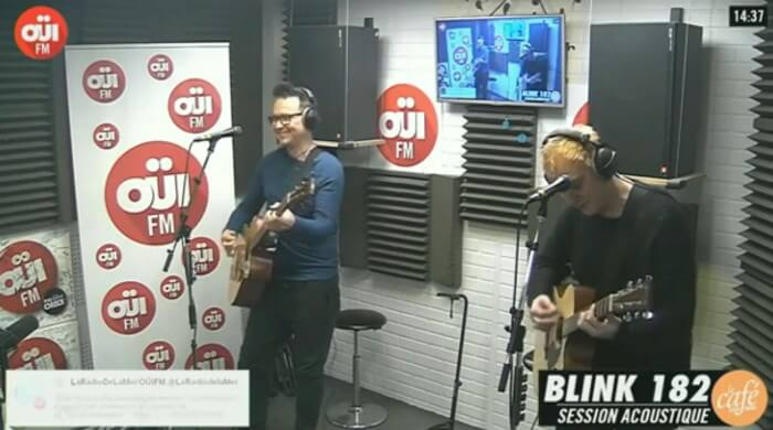 Blink-182 na OUI FM