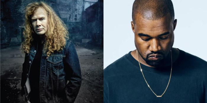 Dave Mustaine e Kanye West