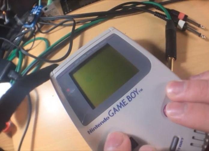 Game Boy vira sintetizador
