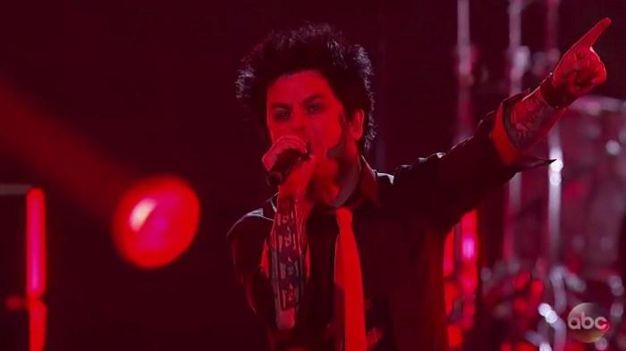 Green Day no American Music Awards 2016