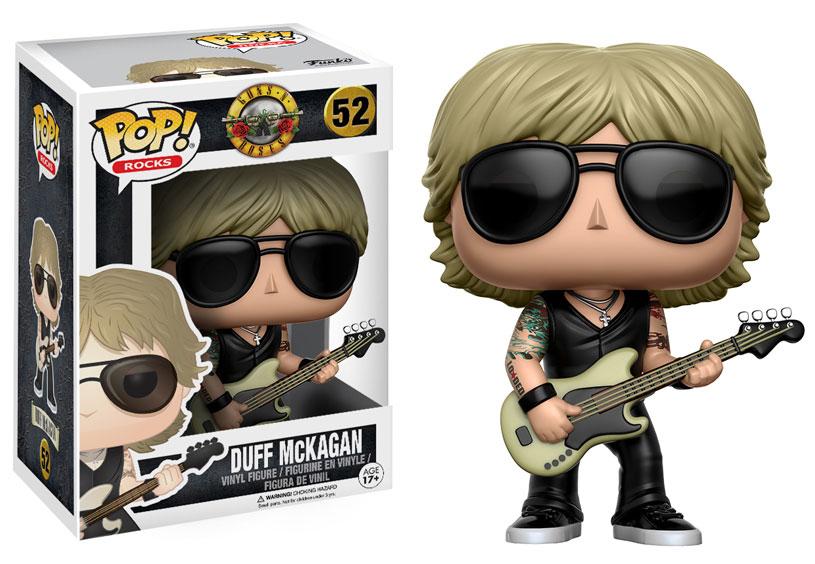Guns N Rose ganha bonecos Funko: Duff