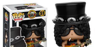 Guns N Rose ganha bonecos Funko: Slash