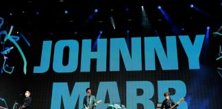 Johnny Marr no festival British Summer Time