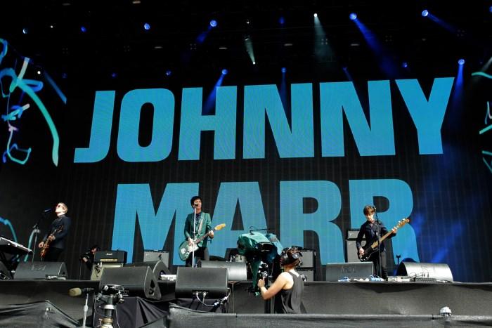 Johnny Marr no festival British Summer Time