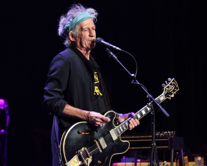 Keith Richards em 2013