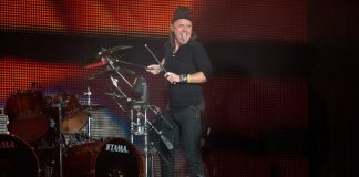 Lars Ulrich, do Metallica, em San Francisco