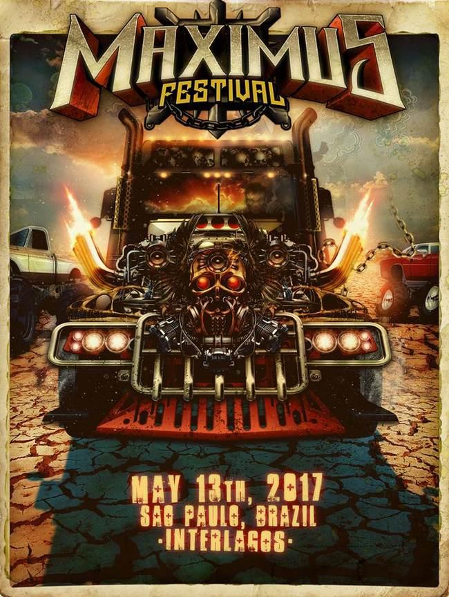 poster da segunda edição do maximus festival