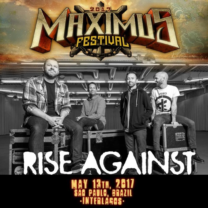 Rise Against no Maximus Festival