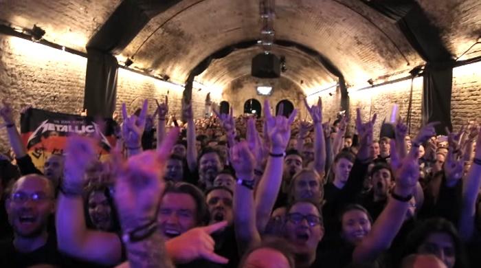 Metallica no House Of Vans em Londres