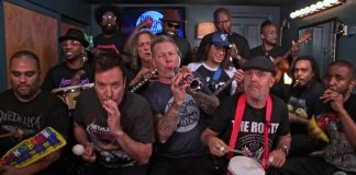 Metallica no Jimmy Fallon