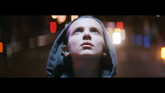 Millie Bobby Brown no clipe do Sigma