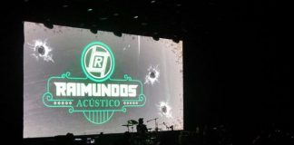 Gravação do Acústico do Raimundos em Curitiba