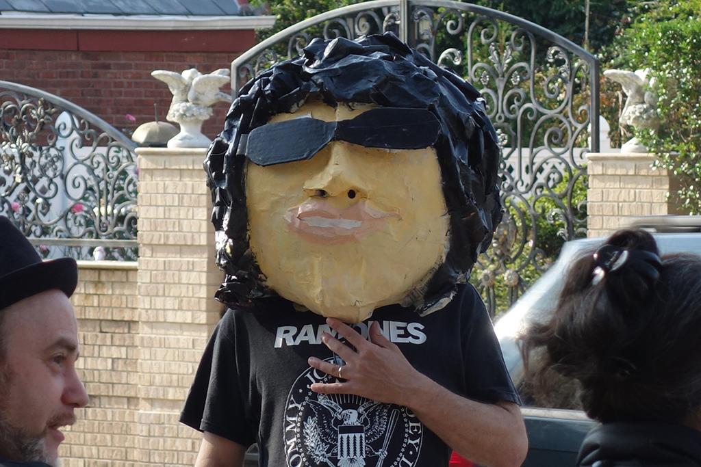 Inauguração da Ramones Way em Nova York