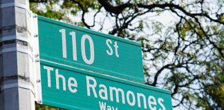 Ramones Way em Nova York
