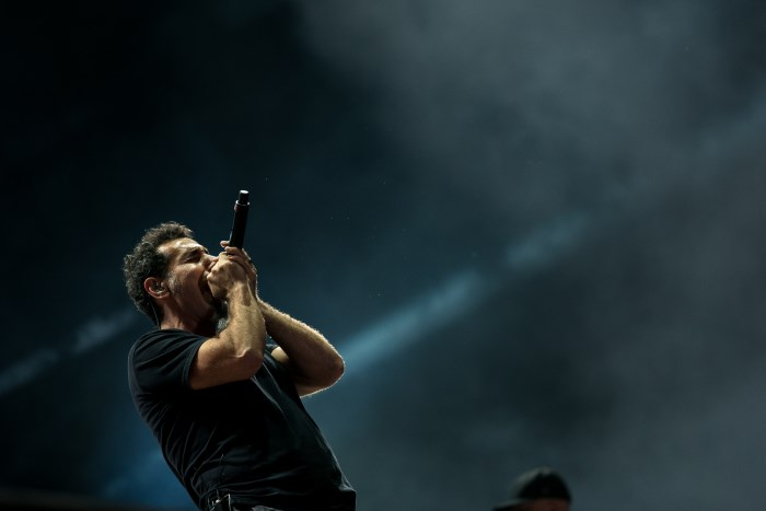 Serj Tankian com o System Of A Down no Rock In Rio