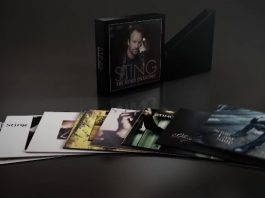 Studio Collection, do Sting, com discografia em vinil