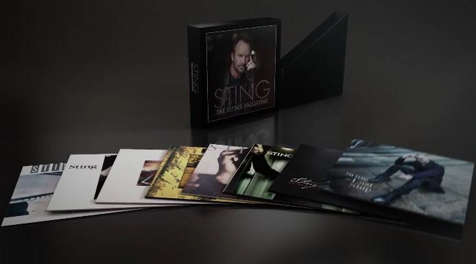 Studio Collection, do Sting, com discografia em vinil