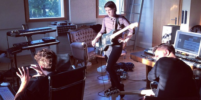 The XX em estúdio
