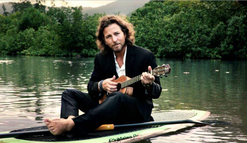 Eddie Vedder no Barquinho Bem de Boas