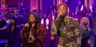 Kim Burrell e Pharrell Williams