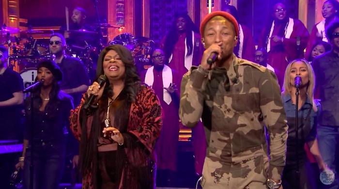 Kim Burrell e Pharrell Williams