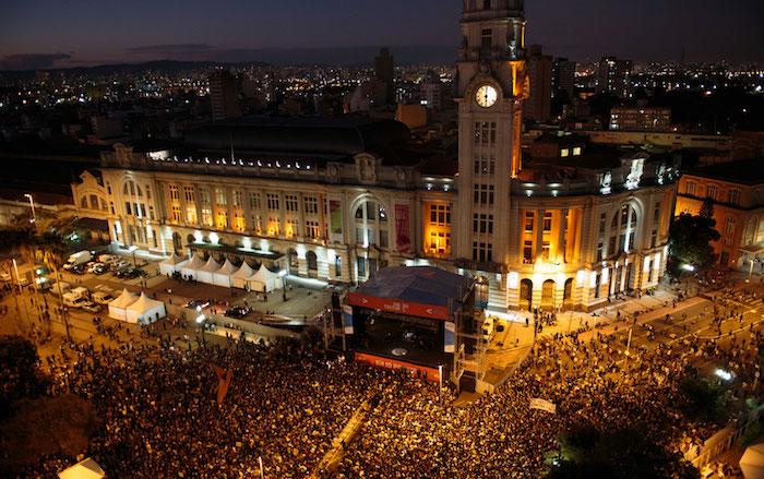 Virada Cultural em São Paulo