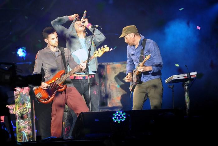 Coldplay em Praga, 2012