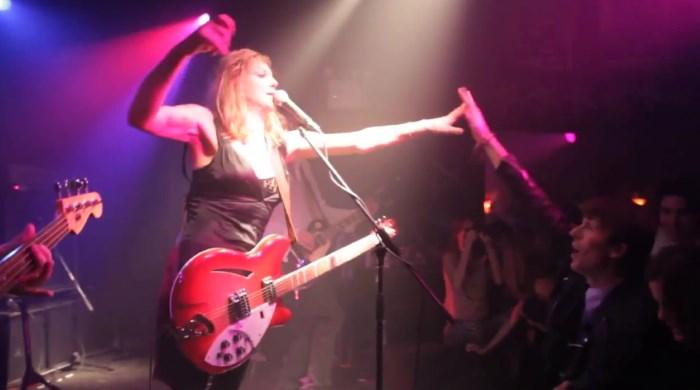 Courtney Love com o Hole