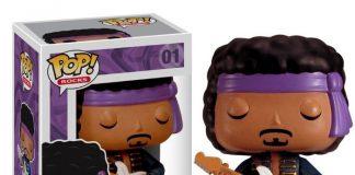 Boneco Funko de Jimi Hendrix