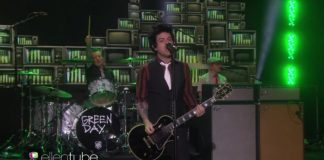Green Day no programa da Ellen