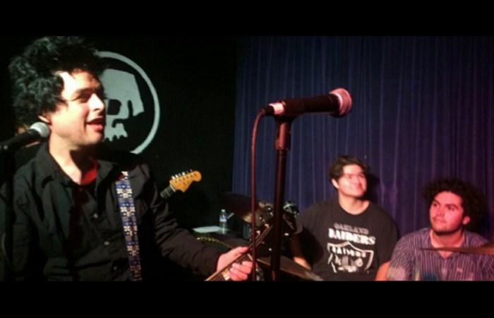 Green Day com os filhos de Billie Joe