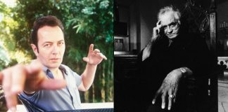 Joe Strummer (The Clash) e Johnny Cash