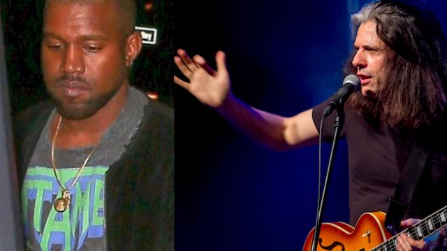 Kanye West veste camiseta da banda Testament