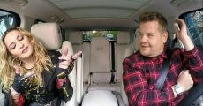 Madonna canta seus hits no Carpool Karaoke