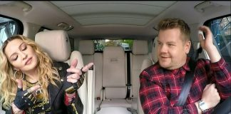Madonna canta seus hits no Carpool Karaoke
