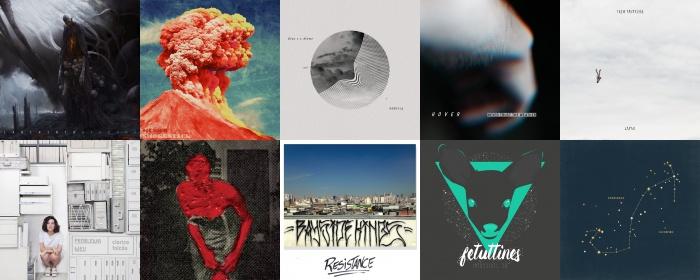 Os melhores discos nacionais de 2016
