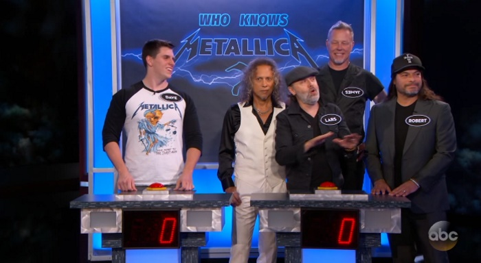 Metallica no Jimmy Kimmel