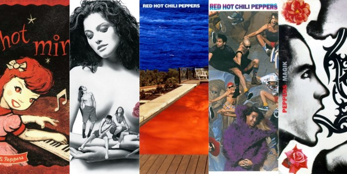 toda a discografia do red hot chili peppers