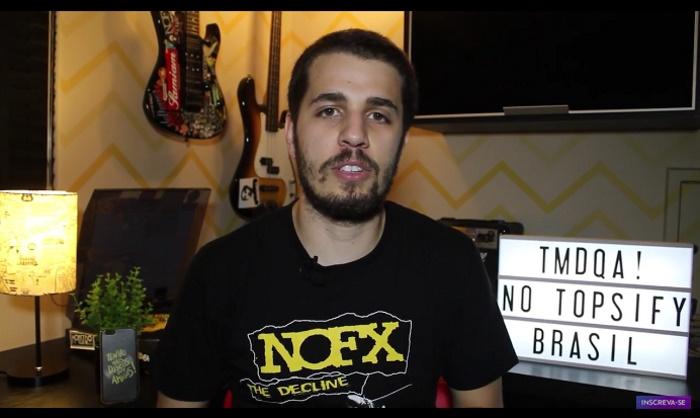 Tony Aiex no Tenho Mais Discos, do Topsify Brasil