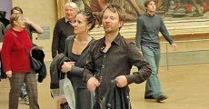 Thom Yorke e Rachel Owen