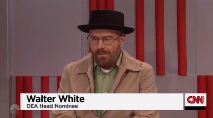Walter White é o chefe do DEA de Trump no SNL