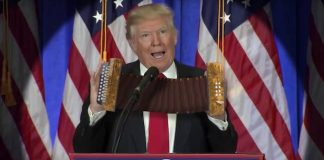 A vida de acordeon com Donald Trump