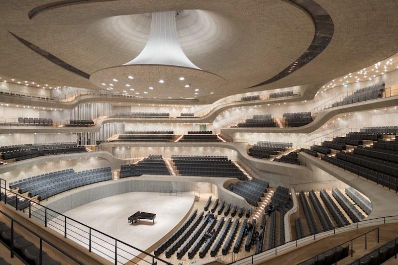 Elbphilharmonie Concert Hall, a primeira sala de shows