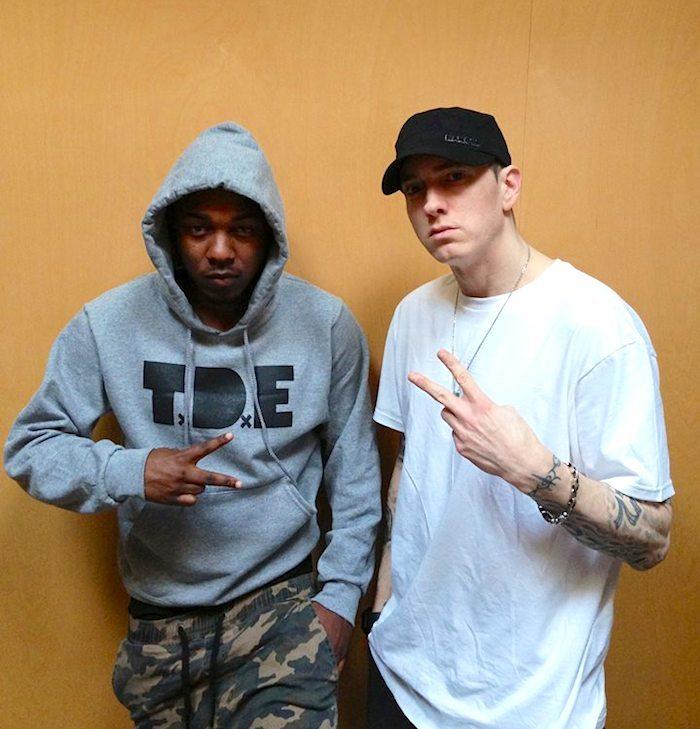 Kendrick Lamar e Eminem