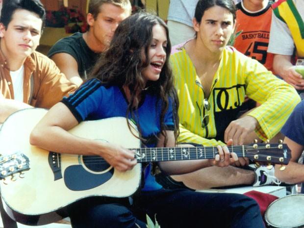 Alanis Morissette em Malhação (1996)