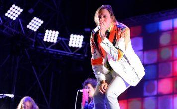 Arcade Fire no festival Primavera Sound em 2014