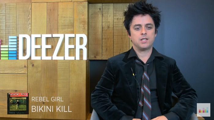 Billie Joe fala sobre as músicas da sua vida na Deezer